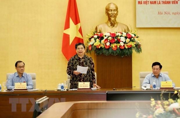 Revisan en Vietnam la implementacion de los acuerdos de libre comercio hinh anh 1