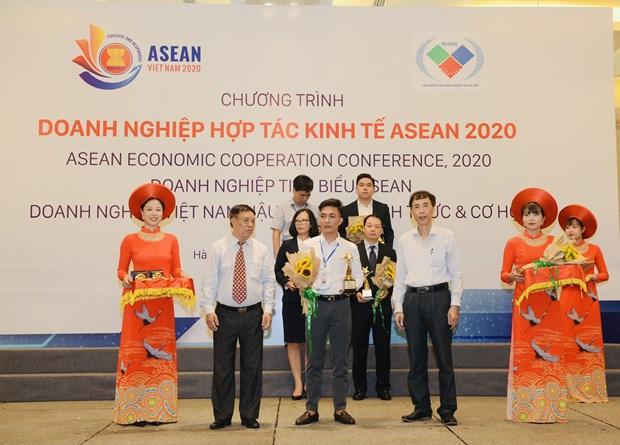 Empresa vietnamita figura entre las 10 mas destacadas de la ASEAN hinh anh 1