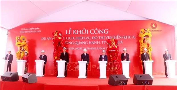 Inician en provincia vietnamita construccion de zona turistica costera hinh anh 1