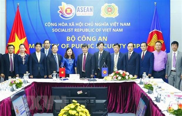 Efectuan reunion de Altos Funcionarios de ASEAN sobre lucha contra crimenes transnacionales hinh anh 1
