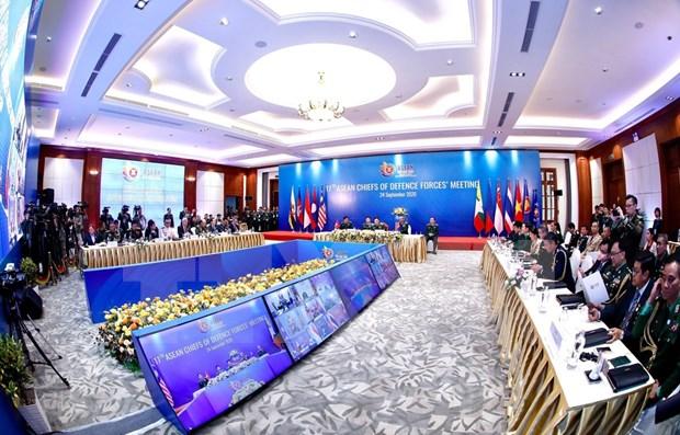 ASEAN 2020: Mejorar la eficiencia del mecanismo de cooperacion en campo militar hinh anh 1