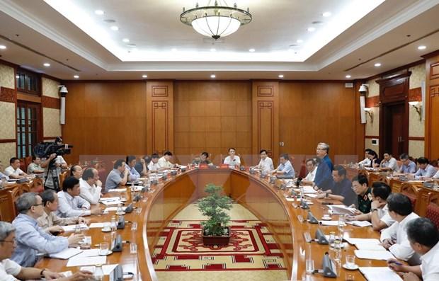 Buena preparacion contribuira a la celebracion exitosa del XIII Congreso Nacional del PCV hinh anh 1
