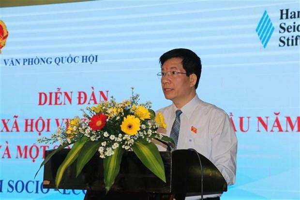 Efectuan foro sobre situacion socioeconomica de Vietnam en 2020 hinh anh 1