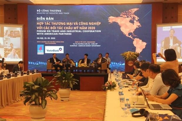 Vietnam busca impulsar exportaciones a America hinh anh 1