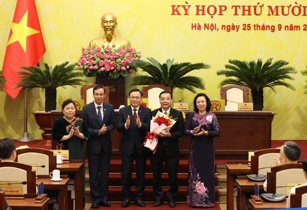 Chu Ngoc Anh, elegido presidente del Comite Popular de Hanoi hinh anh 1