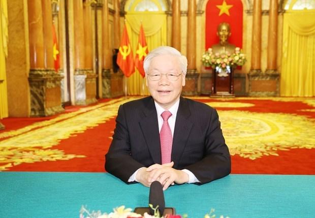 Maximo dirigente de Vietnam envia mensaje a la ONU por aniversario de su fundacion hinh anh 1