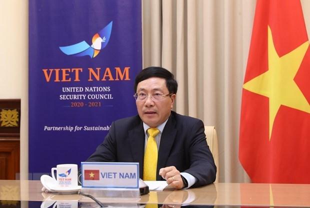 Vietnam asiste a reunion de alto nivel de Consejo de Seguridad de ONU hinh anh 1