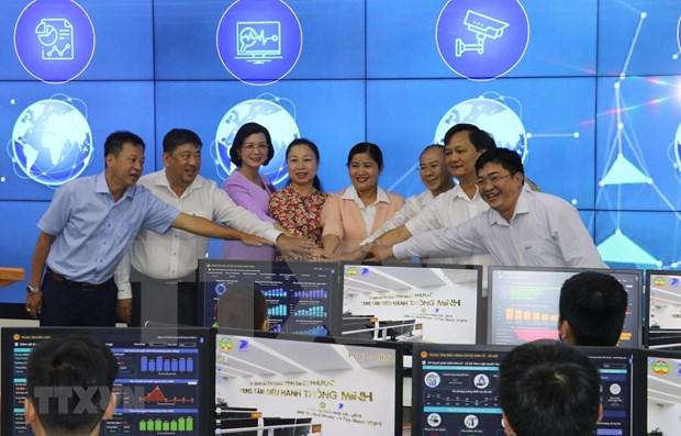 Provincia vietnamita de Binh Phuoc activa Centro de Operacion Inteligente hinh anh 1