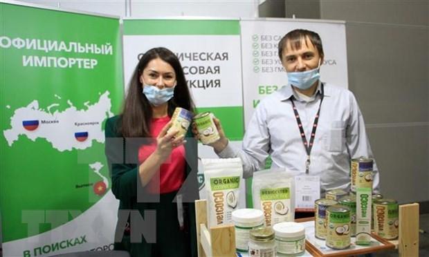 Marca vietnamita ha vuelto popular y afirmado su calidad en el mercado de Rusia hinh anh 1