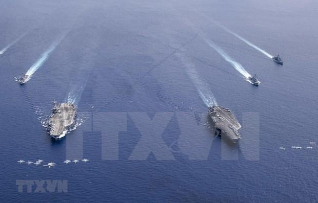 Grupo Cuarteto reafirma su compromiso con la region del Indo-Pacifico hinh anh 1
