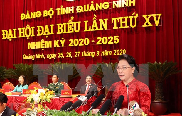 Presidenta del Parlamento insta a Quang Ninh a optimizar sus potencialidades hinh anh 1