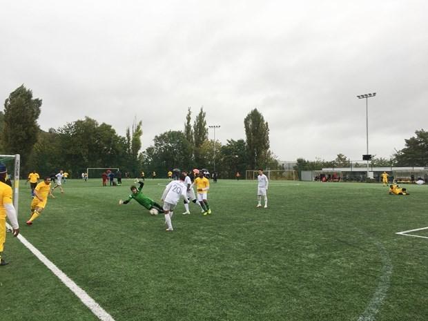 Participa Vietnam en torneo de futbol en Republica Checa hinh anh 1