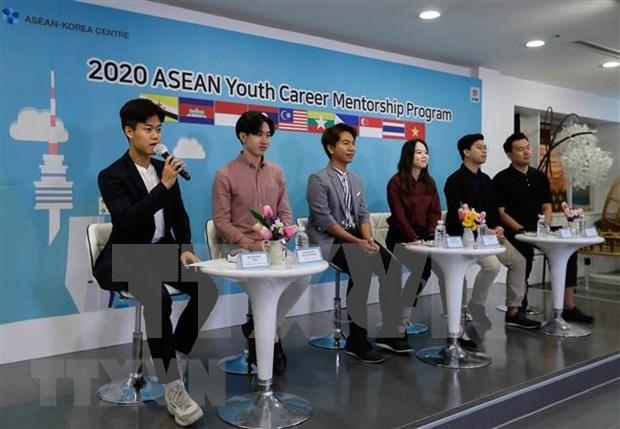 Organizan programa de asesoramiento vocacional a jovenes de ASEAN en Corea del Sur hinh anh 1