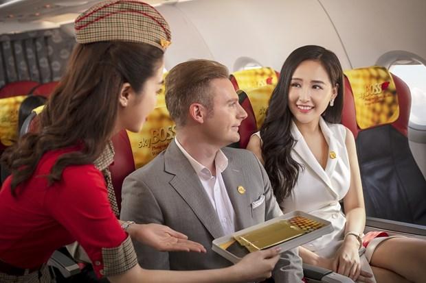 Nuevo pase de vuelo de Vietjet ofrece viajes nacionales ilimitados hinh anh 1
