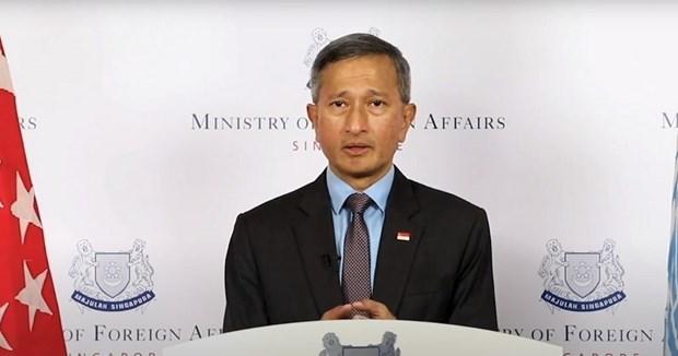 Singapur llama cooperacion global en lucha contra COVID-19 hinh anh 1
