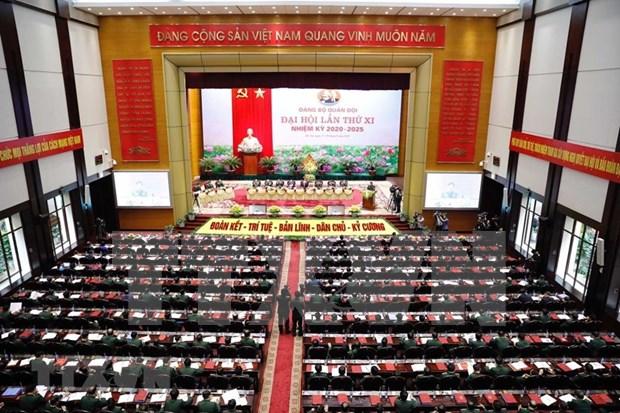 Sesiona asamblea partidista del Ejercito vietnamita hinh anh 1
