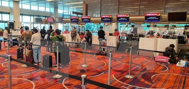Repatrian a mas de 230 ciudadanos vietnamitas en Singapur hinh anh 1
