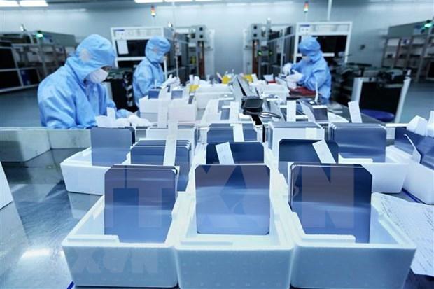 Aumenta indice de produccion industrial de provincia de Bac Giang hinh anh 1