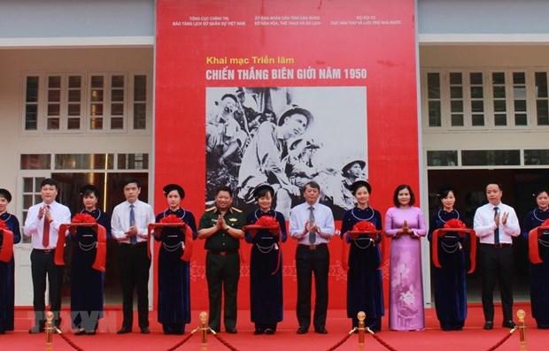 Inauguran exposicion sobre Campana Fronteriza de 1950 en provincia nortena de Cao Bang hinh anh 1