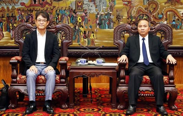 Empresa japonesa planea invertir fondo millonario en provincia vietnamita de Vinh Phuc hinh anh 1
