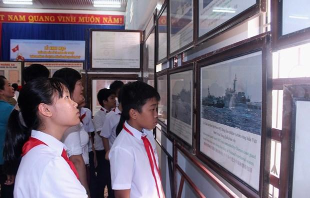 Exposicion digital sobre soberania vietnamita sobre archipielagos de Hoang Sa y Truong Sa hinh anh 1
