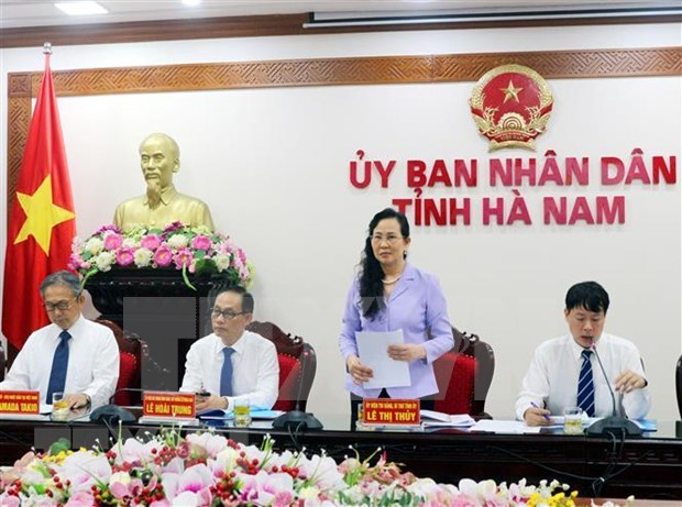 Japon elogia entorno inversionista de la provincia de Ha Nam hinh anh 1