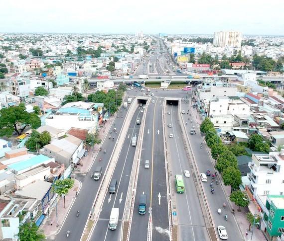 Ciudad Ho Chi Minh por completar importantes proyectos de transporte para 2025 hinh anh 1