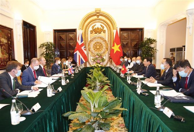 Vietnam y Reino Unido sostienen dialogo integral sobre cooperacion bilateral hinh anh 1