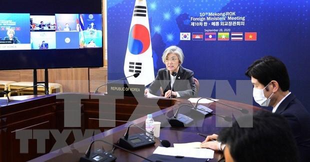 Paises de subregion de Mekong y Corea del Sur fomentan comercio hinh anh 1
