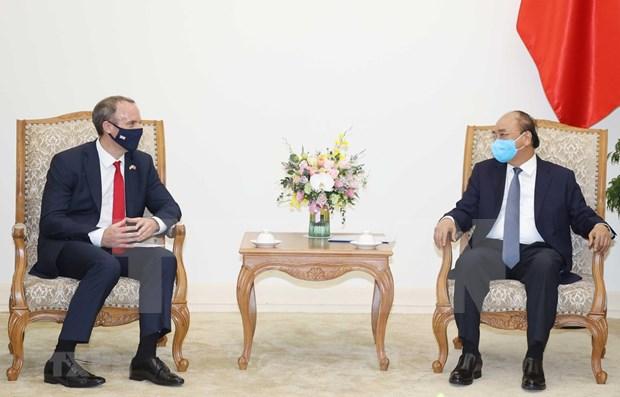 Apoya premier de Vietnam pronta firma de TLC con Reino Unido hinh anh 1