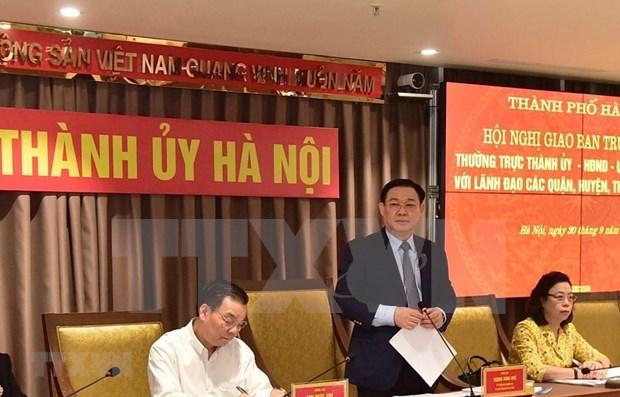 Hanoi proyecta crecimiento economico superior al cinco por ciento en cuarto trimestre de 2020 hinh anh 1