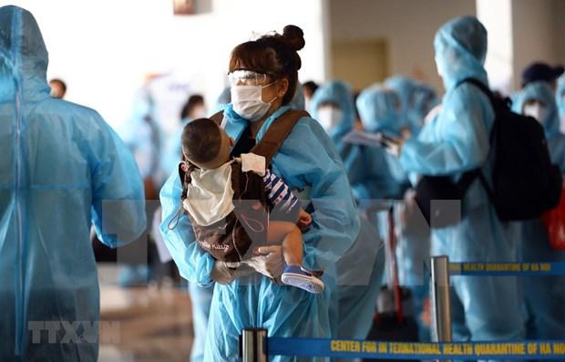 Retornan mas de 250 ciudadanos vietnamitas de Corea del Sur hinh anh 1