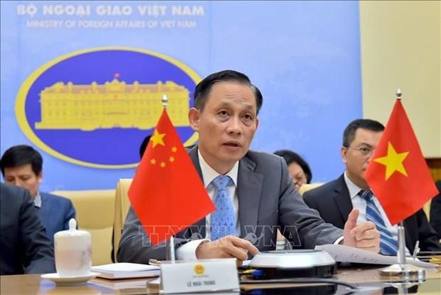Vicecanciller vietnamita envia videomensaje de felicitacion a China por su Dia Nacional hinh anh 1