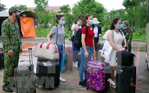 Vietnam: Otros ocho pacientes recuperados del COVID-19 hinh anh 1