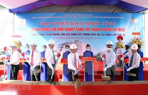 Emprenden construccion de la Sede del Centro de Innovacion de Ciudad Ho Chi Minh hinh anh 1