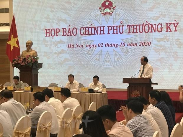 Gobierno vietnamita decidido a lograr crecimiento de tres por ciento este ano hinh anh 1