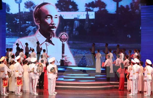 Efectuan exposicion sobre Presidente Ho Chi Minh y el cine de la Revolucion vietnamita hinh anh 1