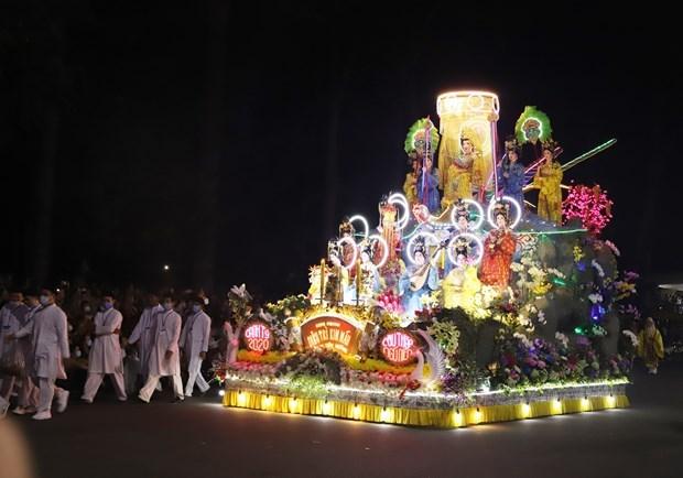 Religion autoctona de Cao Dai celebra mayor festival anual en Vietnam hinh anh 1