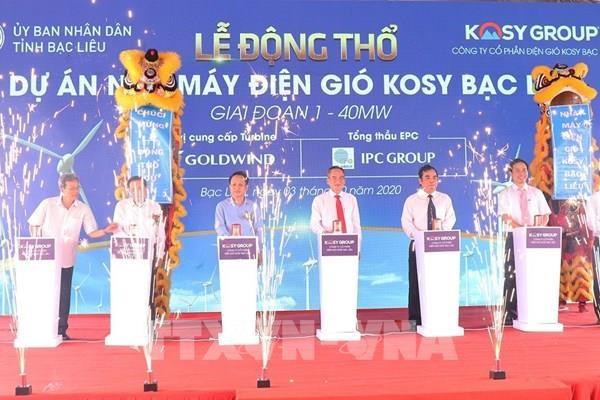 Grupo vietnamita invierte 345 millones de dolares en planta de energia eolica hinh anh 1