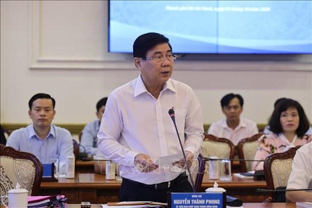 Ciudad Ho Chi Minh busca recuperar la economia en periodo post COVID-19 hinh anh 1