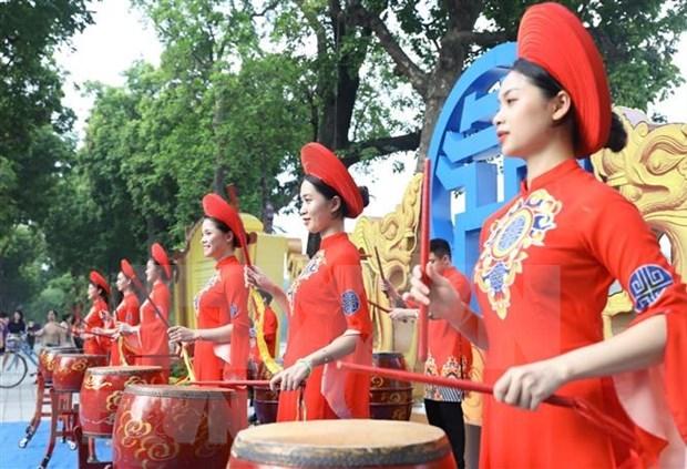 Semana cultural por 1010 aniversario de fundacion de Thang Long-Ha Noi hinh anh 1
