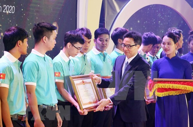 Inauguran XI Competencia Nacional de Habilidades de Vietnam hinh anh 1