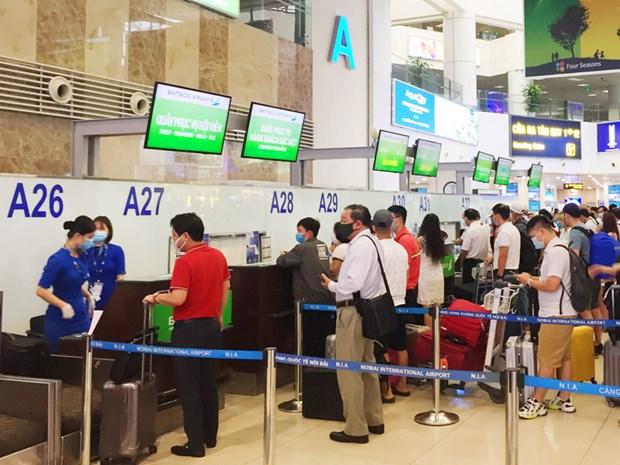 Sector de la aviacion de Vietnam en camino de recuperacion hinh anh 1