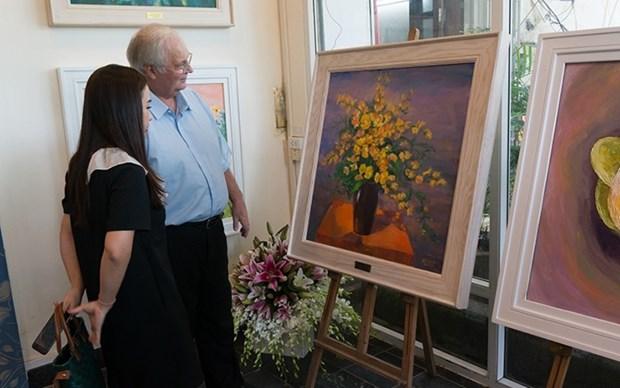 Divulgan sobre flores nacionales de los paises de la ASEAN hinh anh 1