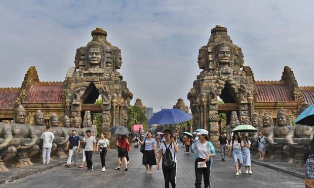 Ingresos de entradas a parque Angkor en Camboya disminuyen en 75 por ciento hinh anh 1