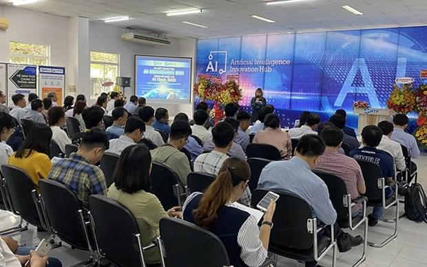 Lanzan en ciudad vietnamita centro de incubacion especializado en inteligencia artificial hinh anh 1