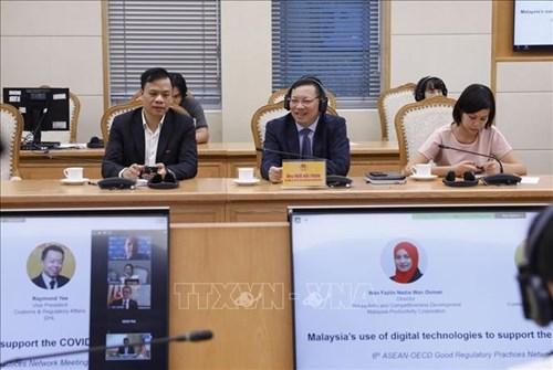 ASEAN y OCDE discuten sobre herramientas digitales para la formulacion de politicas regulatorias hinh anh 1