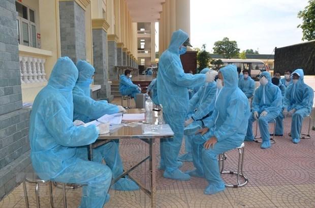 Vietnam acumula 35 dias consecutivos sin nuevos casos de COVID-19 en la comunidad hinh anh 1