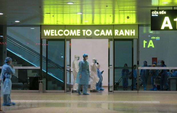 Retornan mas de 220 ciudadanos vietnamitas de Japon hinh anh 1