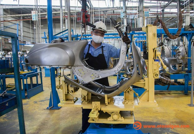 Piaggio desarrolla negocios en provincia vietnamita de Vinh Phuc hinh anh 1